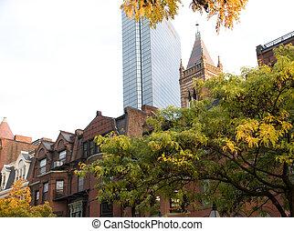 Boston in the Fall.