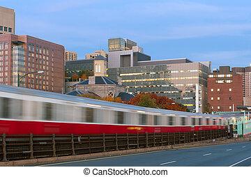 boston, métro