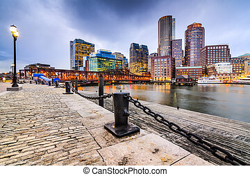 Boston Massachusetts Cityscape