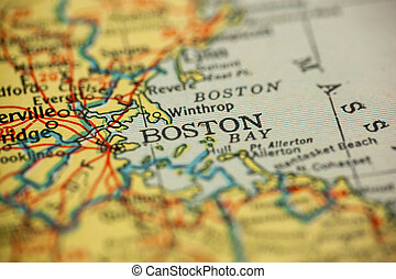 Boston Massachusetts Map