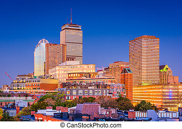 boston, massachusetts, usa, cityscape