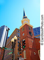 Boston Old South Meeting House historic site