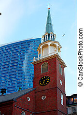 Boston Old South Meeting House Massachusetts