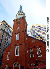 Boston Old South Meeting House Massachusetts