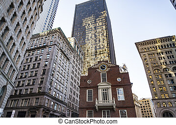 Boston Old State House building