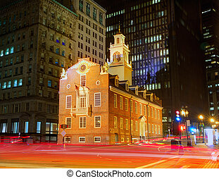 Boston Old State House in Massachusetts