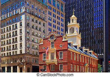 Boston Old State House in Massachusetts - Boston Old State ...