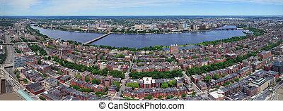 Boston Panorama and Cambridge
