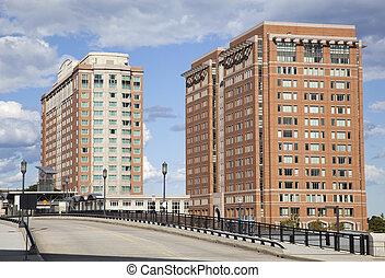 boston, ponts