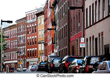 boston, rua