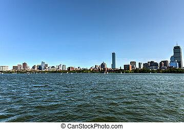 Boston Skyline from Charles River