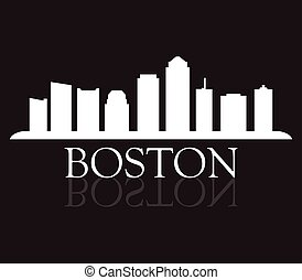 boston, skyline