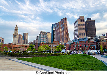 Boston Skyscrapers