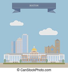 Boston, the capital of Massachusetts