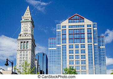 boston, tour, foyer personnalisé