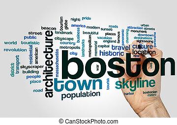 Boston word cloud