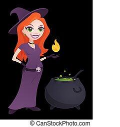 boszorkány, meglehetősen
