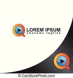 botão, ícone, jogo, logotipo, conversando