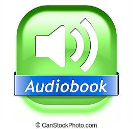 botão, audiobook