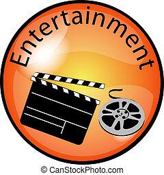 botão, entretenimento