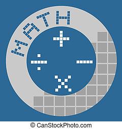 botão, matemática