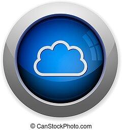 botão, nuvem