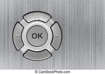 botão, ok