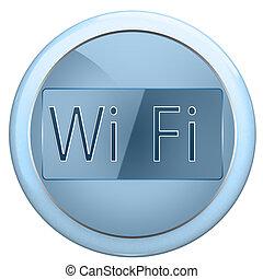 botão, wi fi