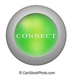 botón, conectar
