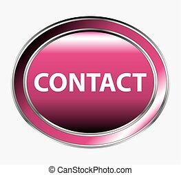 botón, contacto