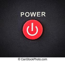 botón de la energía, fondo
