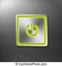 botón de la energía