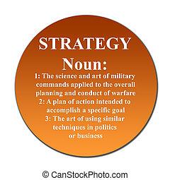 botón, estrategia