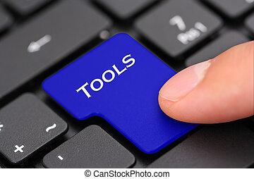 botón, herramientas
