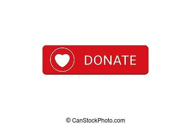 botón, icon15, donar