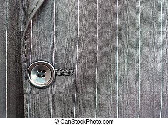 botón, traje