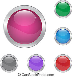 botões