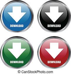 """botões, """"download"""""""