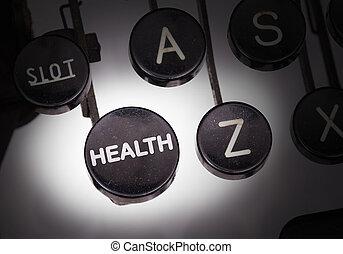botões, especiais, máquina escrever