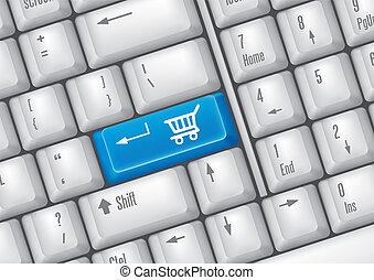 botões, shopping