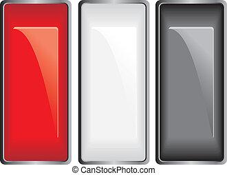 botões, varicolored