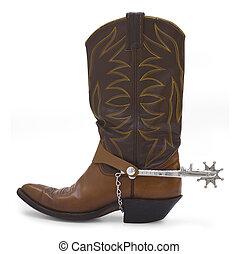bota, kovboj