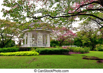 Botanic gardens Bandstand - Picture of the beautiful...