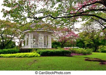 botanica, coreto, jardins