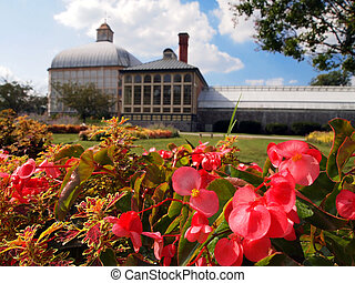Botanical Garden and Conservatory in Baltimore
