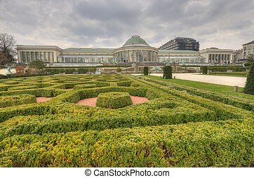 Botanical garden in Brussel