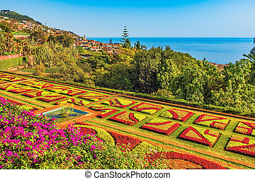 botanical garden in Funchal, Madeira, Portugal