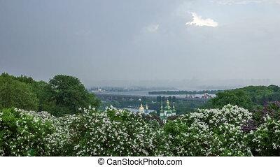 Botanical garden in Kyiv