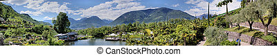 Botanical garden of Merano - In the botanical garden of...