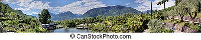 Botanical garden of Merano - In the botanical garden of ...